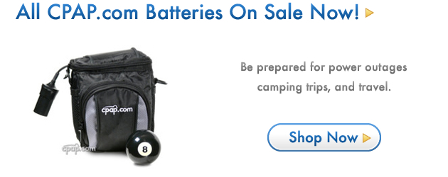 CPAP.com Battery Sale Going on NOW!