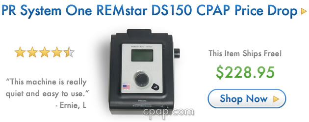 PR System One REMstar DS150 CPAP Price Drop!